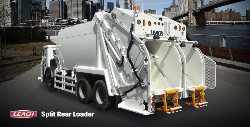 The Leach Split Rear Loader